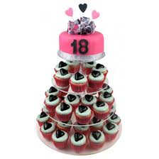 cupcake birthday cake lovely 18th birthday cupcake cake