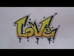 how to write graffiti letters easy version for beginners art