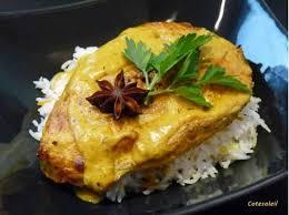 cuisiner le lieu jaune darnes de lieu jaune a l indienne côté soleils les recettes de