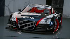 audi race car audi r8 lms ultra racecar add on gta5 mods com