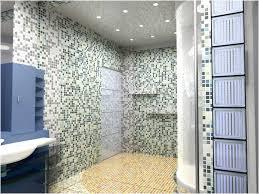 Bathroom Bathroom Yellow Glass Tile Floor Mosaic Glass Tile - Floor to ceiling bathroom vanity