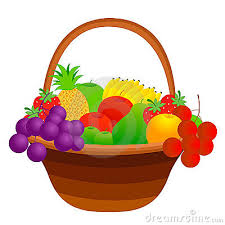 thanksgiving fruit basket fruit basket clipart 146318