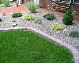 simple rock landscaping ideas chic simple rock garden ideas rock