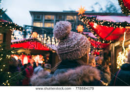 Shopping In Germany Market Stalls Shopping Cologne Germany Stock Photo