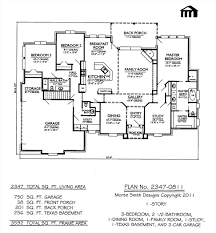 bedroom awesome 2347 0811sq feet 3 1 story house plan 2
