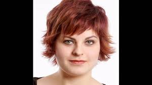 short hairstyles for chubby faces youtube