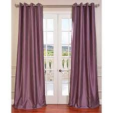 Plum Blackout Curtains Purple Home Decor Bellacor