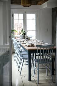 coastal dining room sets coastal dining room blue and white white oak dining room table and
