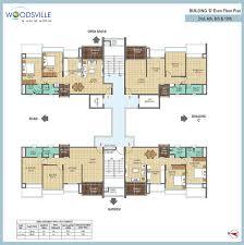 sle floor plans floor plan pharande promoters builders woodsville at moshi