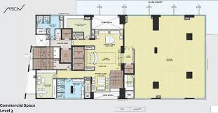 Commercial Floor Plan by Akshaya Abov In Padur Chennai Price Location Map Floor Plan