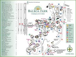New Orleans City Park Map by San Diego Balboa Park Map