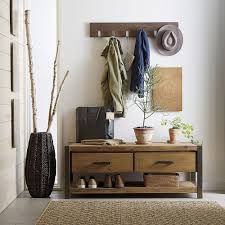 mudroom hallway shoe rack bench skinny bench entrance coat rack