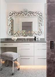 Venetian Mirror Bathroom by Venetian Etched Mirror Bathroom Contemporary With Small Bathroom