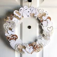 s day wreaths neutral heart wreath for s day hometalk