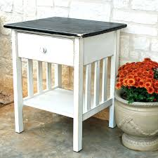 shipping pallet nightstand with charging station 9 steps with