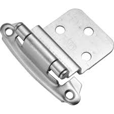 3 8 inset cabinet hinges hickory hardware 3 8 in inset chrome self closing hinge 2 pack
