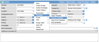 creating a template servicenow wiki