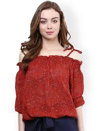 Shoulder Top - shoulder tops buy shoulder tops in india myntra