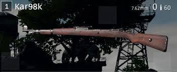 pubg kar98k pubg攻略 初心者に捧げるドン勝宅配便 武器解説編 スナイパー
