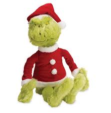 grinch halloween costumes amazon com manhattan toy dr seuss the grinch in santa suit soft