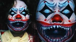 killer clown makeup halloween killer clown halloween 2016 youtube