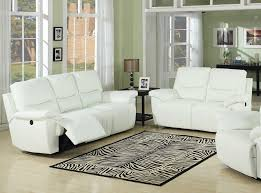 White Leather Recliner Sofa Top Grain Leather Recliner Sofa 1025theparty
