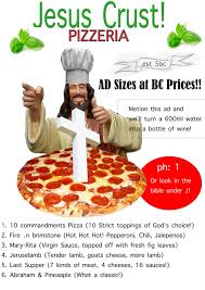Jesus Crust Meme - jesus you better not fu k with my pizza or i ll kill you again by