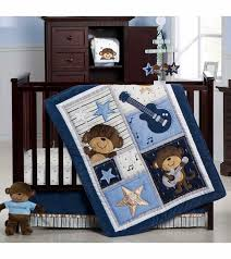 Rock N Roll Crib Bedding S Monkey Rockstar 4 Crib Bedding Set