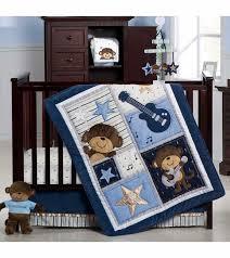 Crib Bedding Monkey S Monkey Rockstar 4 Crib Bedding Set