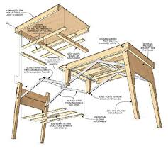 Wood Folding Table Plans Folding Table Diy Www Napma Net
