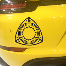 mazda rx7 rotary engine rotary engine wankel engine car decal sticker fit for mazda 3 6 cx