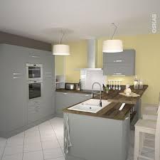 exemple de cuisine en u idée relooking cuisine cuisine grise lustre gris modele de