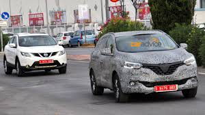 renault kadjar vs nissan qashqai renault kadjar name confirmed for new suv photos 1 of 3
