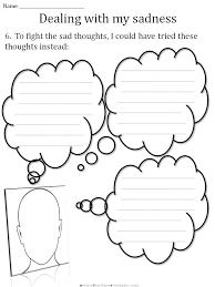 Coping Skills For Anxiety Worksheets Cbt Children S Emotion Worksheet Series 7 Worksheets For Dealing