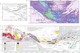 Southern Mexico Map the north american caribbean plate boundary in mexico guatemala