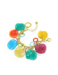 charm bracelet murano glass images Lyst antica murrina shiva murano glass charm bracelet jpeg