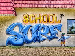 Surf Mural by Cocoa Beach Florida Skool Of Surf U2013 Tokidoki Nomad