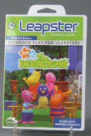 110 1697 leapster learning game backyardigans video game