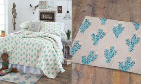 trending home decor cowgirl cactus bedding collection