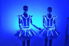 Light Up Costumes Led Luminous Illuminated Glowing Glow Light Up Clothing Dance