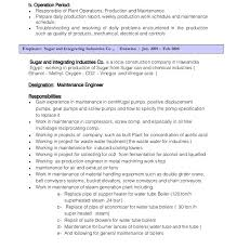 Wastewater Treatment Plant Operator Resume Gas Plant Operator Resume Eliolera Com