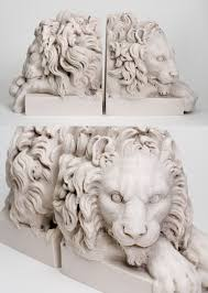 bookends lion pair of chatsworth lion bookends 1 diebel s