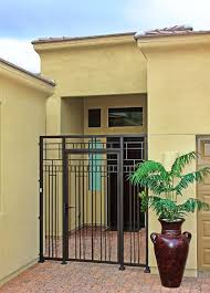 Residential Security Doors Exterior Abstract Iron Gate By Impression Security Doors Modern