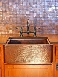 copper tile backsplash for kitchen home design ideas