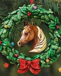 breyer equestion wreath ornament fort brands