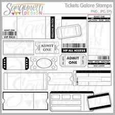 blank ticket stubs tons of free templates and printables