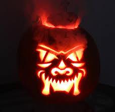 Halloween Light Show 2011 by Cool Halloween Pumpkins And Jack O Lanterns