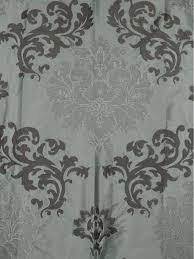 Black And White Damask Curtain Rainbow Embroidered Classic Damask Dupioni Custom Made Curtains