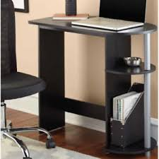 Computer Desk With Printer Storage Mainstays Computer Desk Black Study Workspace Room Office
