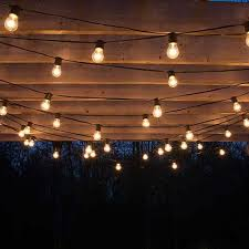 best 25 outdoor patio string lights ideas on outdoor